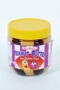 Peanut Butter with Blueberry Stripes - 340g