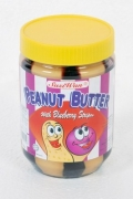 Peanut Butter with Blueberry Stripes - 510g