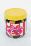 Peanut Butter with Strawberry Stripes - 340g