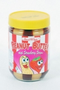 Peanut Butter with Strawberry Stripes - 510g